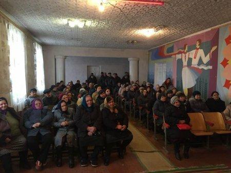 Зустріч з громадою села Шубранець Заставнівського району - Максим Бурбак