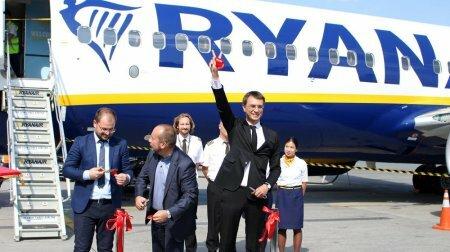"""Володимир Омелян: Аеропорт """"Бориспіль"""" зустрів перший рейс авіакомпанії Ryanair"""