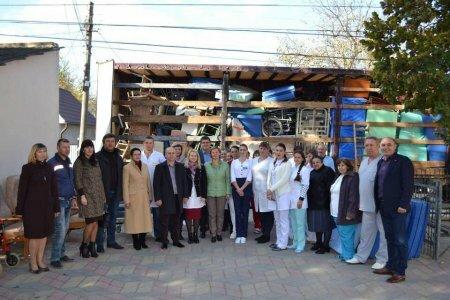 В 7-й раз Хотинська центральна районна лікарня отримує гуманітарний вантаж - Максим Бурбак